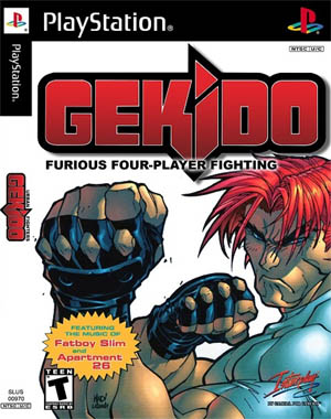 Gekido game playstation cover