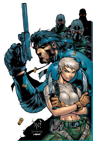 Metal Gear Solid 2 PSM Magazine #36 cover (August 2000) (Color)