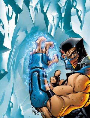 Mortal Kombat 4 PSM Magazine #11 Sub Zero cover