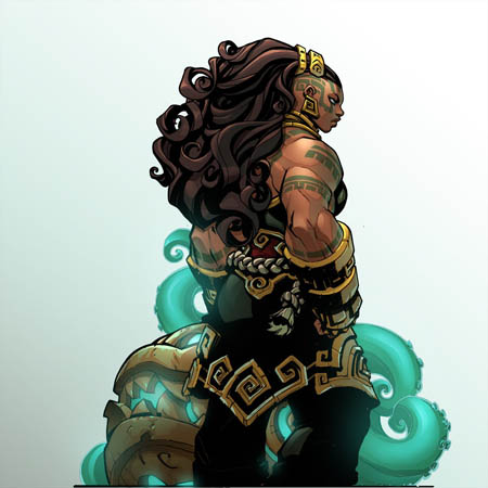 Ruined King game Illaoi portrait