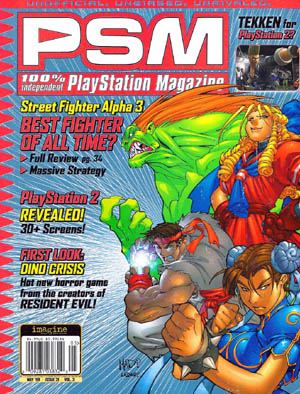 Street fighter alpha 3 PSM cover (Color)