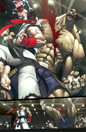 Street Fighter special backup Story page 3/4