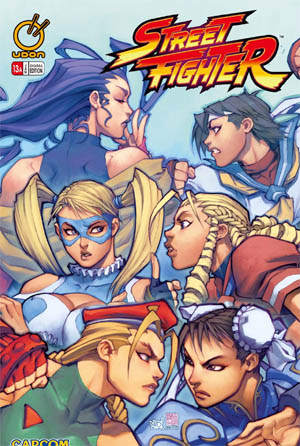 Street Fighter vol 1 issue #13 cover A (Color)
