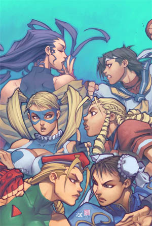 Street Fighter vol 1 issue #13 cover A