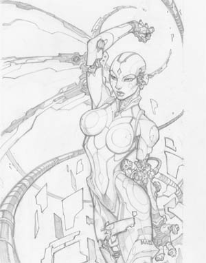Ultimate Extinction Vol #1 issue #1 (Pencil)