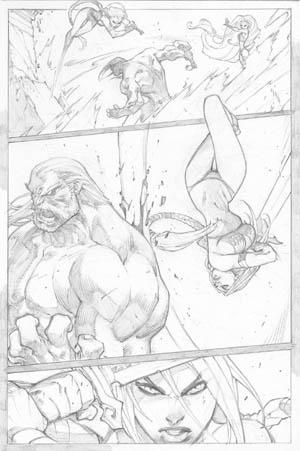 Ultimates 3 Vol3 #2 page 15 (Pencil)