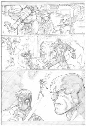 Ultimates 3 Vol3 #2 page 21 (Pencil)