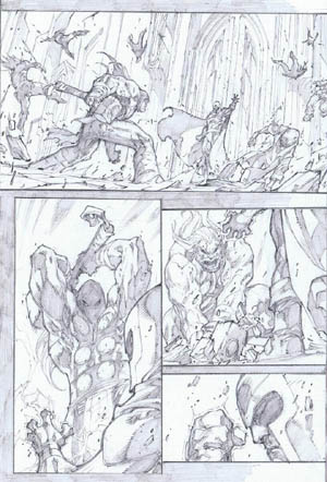 Ultimates 3 Vol3 #4 page 18 (Pencil)