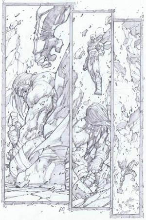 Ultimates 3 Vol3 #4 page 19 (Pencil)