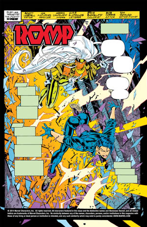 Uncanny X-Men #312 page 1