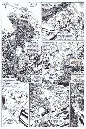 Uncanny X-Men #312 page 10 (Ink)