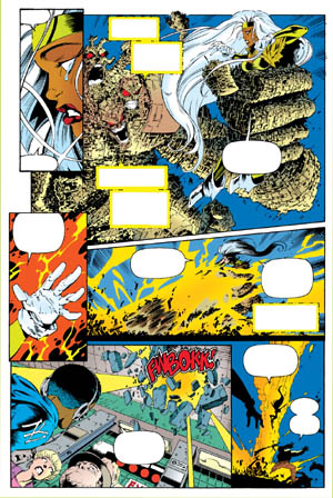 Uncanny X-Men #312 page 11 (Color)