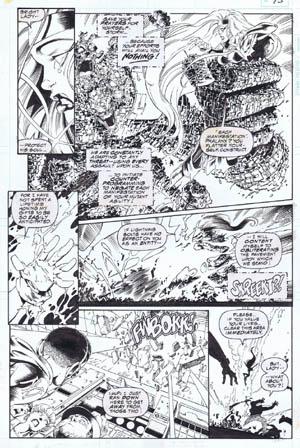 Uncanny X-Men #312 page 11 (Ink)