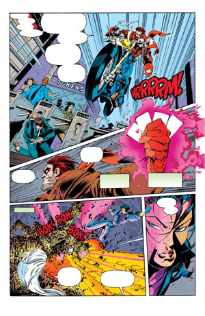Uncanny X-Men #312 page 13 (Color)