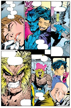 Uncanny X-Men #312 page 21 (Color)