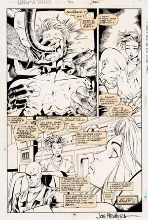 Uncanny X-Men #312 page 22 (Ink)