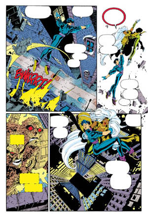 Uncanny X-Men #312 page 4 (Color)