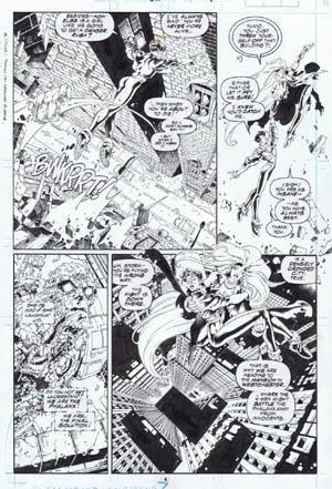 Uncanny X-Men #312 page 4 (Ink)