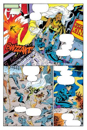 Uncanny X-Men #312 page 6 (Color)