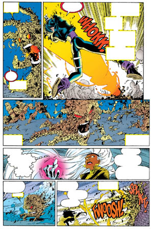 Uncanny X-Men #312 page 7 (Color)