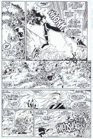 Uncanny X-Men #312 page 7 (Ink)