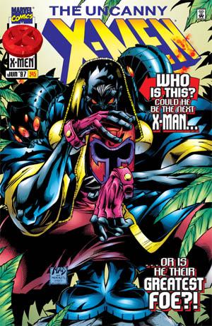 Uncanny X-Men #345 cover