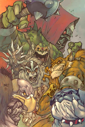 Thundercats Vol #2 issue #3B cover