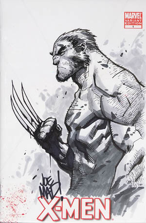 Wolverine X-Mmen #1 comic sketch cover