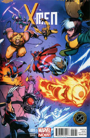 X-Men #1 50th Anniversary Variant cover (Color)
