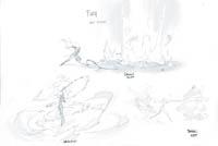 Darksiders 3 Fury concept by Joe Madureira Fury whip attacks