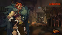 Battle Chasers NightWar: steam card wallpaper Beastmaster Raha