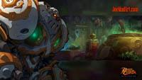 Battle Chasers NightWar: steam card wallpaper Calibretto