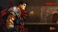 Battle Chasers NightWar: steam card wallpaper Garrison