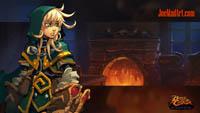 Battle Chasers NightWar: steam card wallpaper Gully