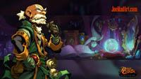 Battle Chasers NightWar: steam card wallpaper Knolan