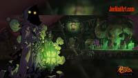 Battle Chasers NightWar: steam card wallpaper The Collector