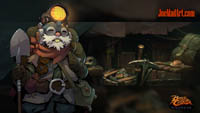 Battle Chasers NightWar: steam card wallpaper Welt