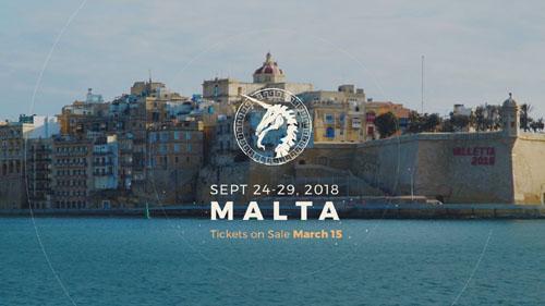 Trojan Horse was a unicorn Malta Valletta 2018 with Joe Madureira
