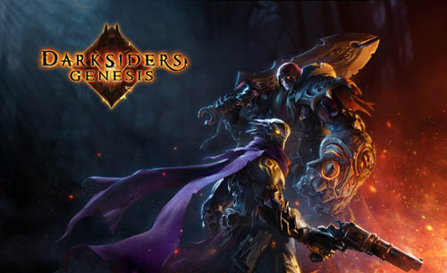 Darksiders Genesis CG key art