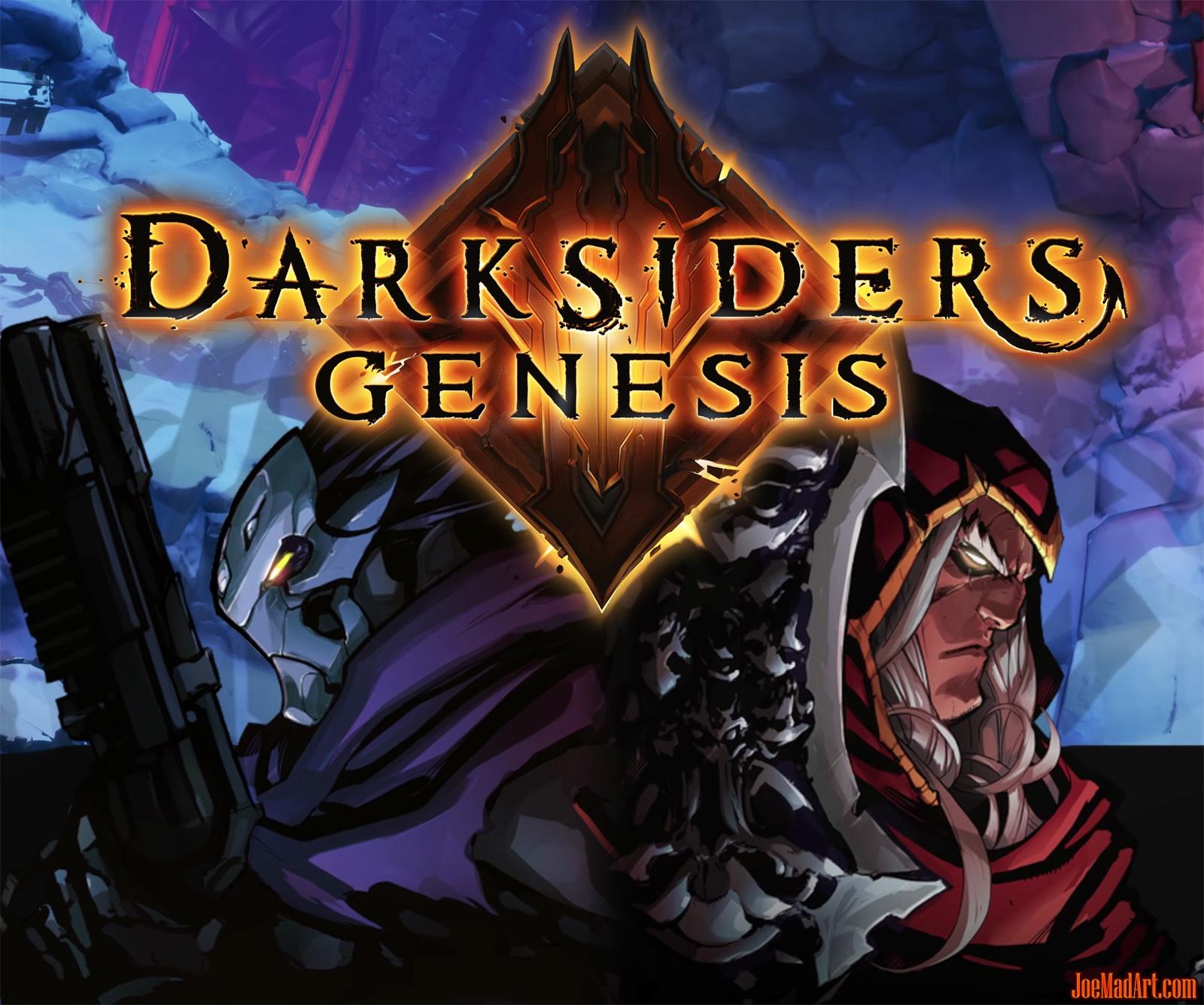 JoeMadArt com update #40 Darksiders Genesis at E3 2019!
