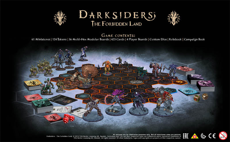Darksiders the forbidden land board game