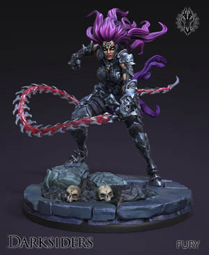 Darksiders the forbidden land Fury figure