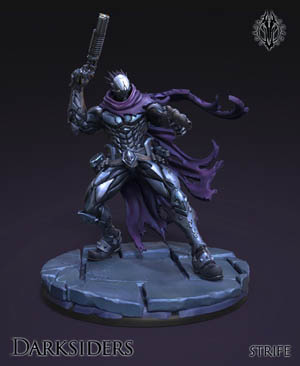 Darksiders the forbidden land Strife figure