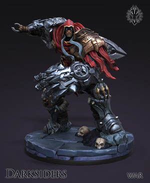 Darksiders the forbidden land War figure