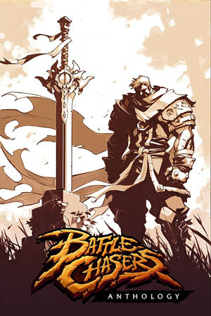 Battle Chasers Anthology trade paperback 2019 cover