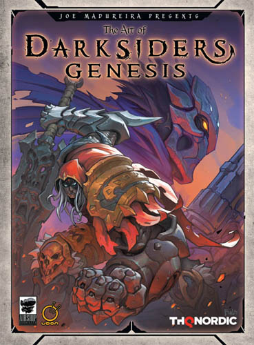 the art of Darksiders Genesis Baldi Konijn cover