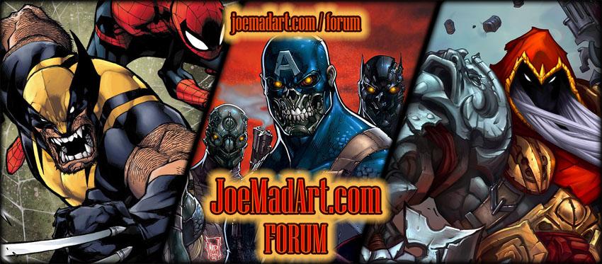 JoeMadArt.com forum promo image