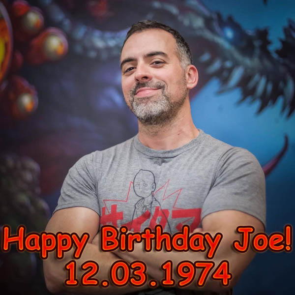 Happy Birthday Joe Madureira