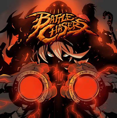 battle chasers comic 10 promo art by ludo Lullabi