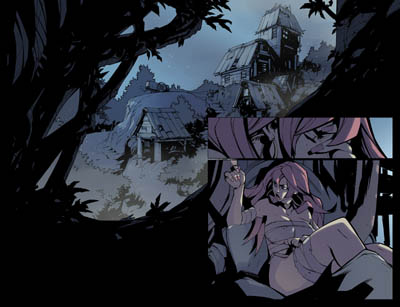 Battle Chasers comic #10 teaser page 1 by Ludo Lullabi